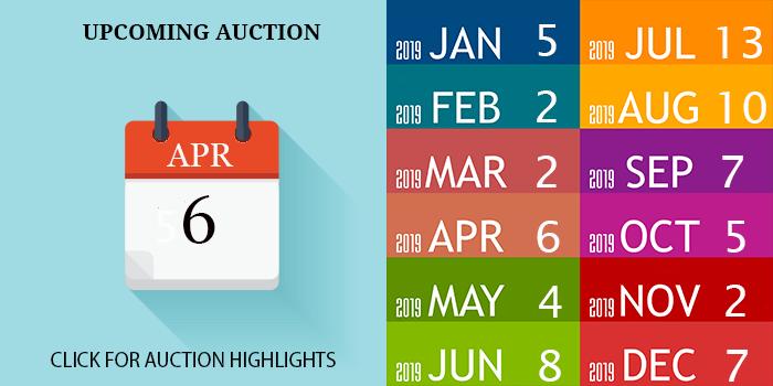 APRIL 2019 AUCTION DATE