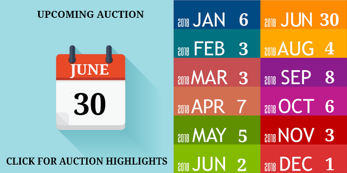 JUNE 2018 AUCTION DATE