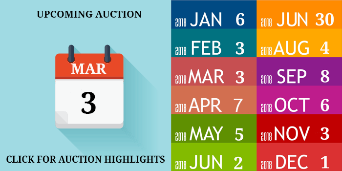 MARCH 2018 AUCTION DATE