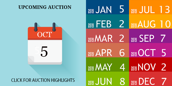 OCTOBER 2019 AUCTION DATE