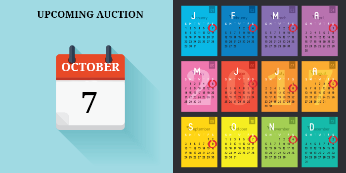OCTOBER AUCTION DATE