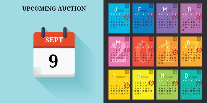 September Auction Date