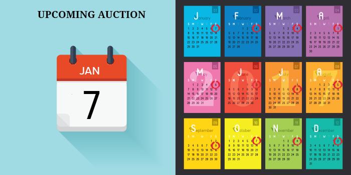 auction dates jan 2017