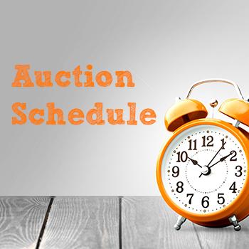 auction schedule temp