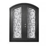 decorative-mahogany-and-iron-entry-systems