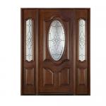 decorative-mahogany-entry-system