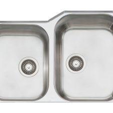 Oliveri-Melbourne-33-x-22-Double-Bowl-Kitchen-Sink-834U-UNDERMOUNT-322142609130