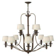 Hinkley-Lighting-4599RY-Royal-Bronze-Dunhill-12-Light-3-Tier-Chandelier-222495883711