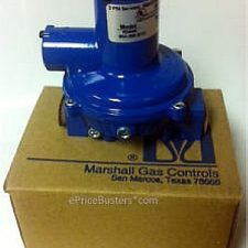 NEW-MARSHALL-R5444-950000-BTU-605H-LP-GAS-REGULATOR-CONTROLS-2-PSI-SERVICE-322395953431