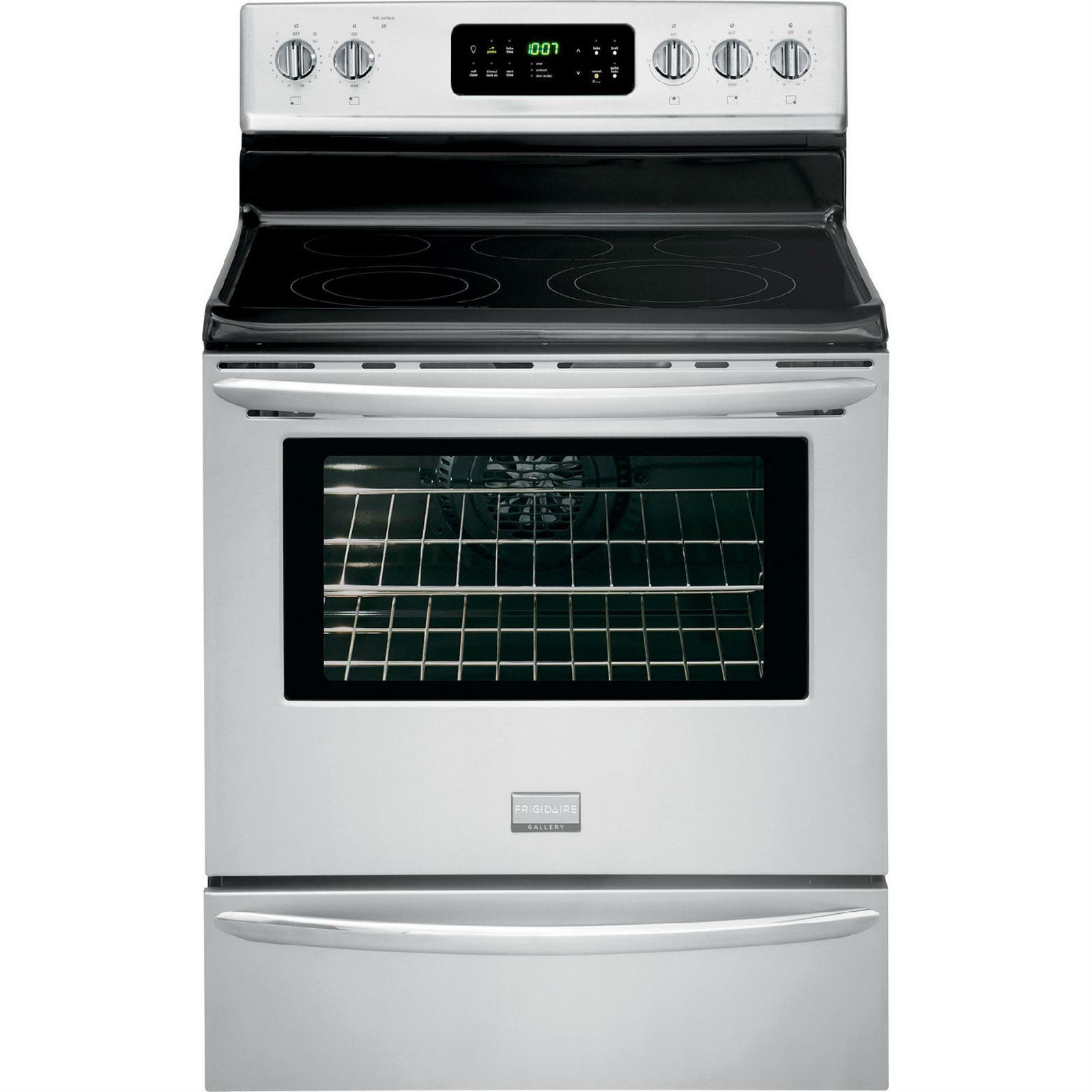 Frigidaire Electric Cooktop ~ Frigidaire gallery fgef mf electric convection range