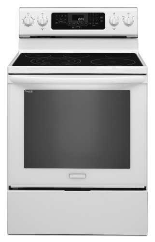 KitchenAid-KERS303BWH-30-White-Electric-Range-w-Even-Heat-322426799382