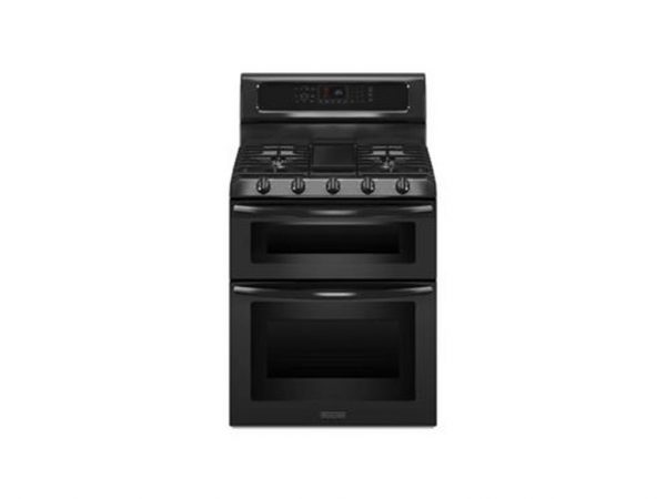 KitchenAid-KGRS505XBL-30-Black-Freestanding-Dbl-Oven-Gas-Range-Convection-Nat-222190783923-2