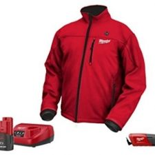 Milwaukee-2331-2X-M12-Cordless-LITHIUM-ION-Red-Heated-Jacket-battery-charger-322386474894