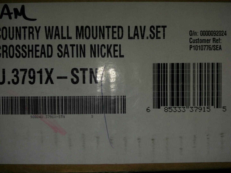 Rohl U.3791X-STN-2 Satin Nickel Perrin and Rowe Wall Mounted ...