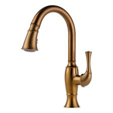 Brizo-63003LF-BZ-Talo-Single-Handle-Pull-Down-Spray-Kitchen-Faucet-Brshed-Bronze-322366538125
