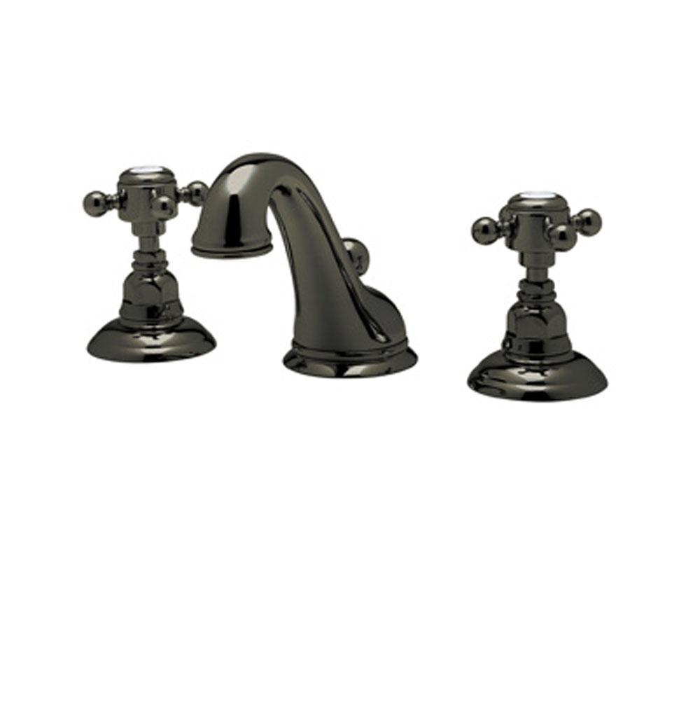 Rohl A1408LMOI-2 Old Iron Country Bath Widespread Bathroom Faucet ...