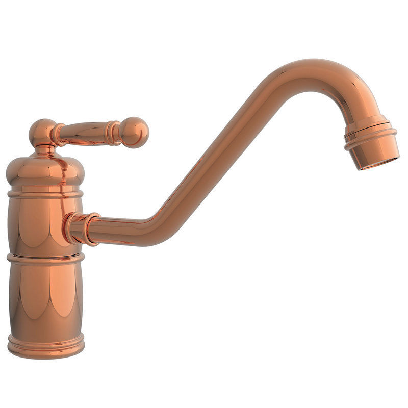 Newport Brass Nb940 08a Nadya Single Handle Kitchen Faucet Antique Copper Southern Sales Services