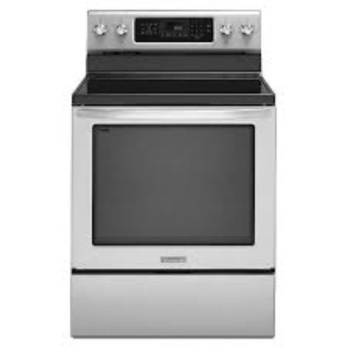 KitchenAid-KERS202BSS-30-Stainless-Electric-Even-Heat-Range-322446957268