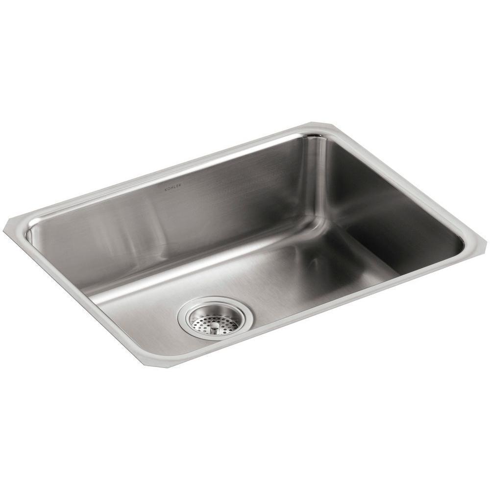 Kitchen Sink Stainless Steel Undermount Single Bowl