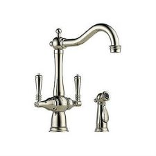 Brizo-62136LF-PN-Tresa-Two-Handle-Single-Hole-Kitchen-Faucet-Side-Spray-Pol-Nick-222354015469
