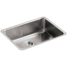 Kohler-Undertone-Squared-Basin-Undermount-Kitchen-Sink-Stainless-K-3332-NA-322371961739