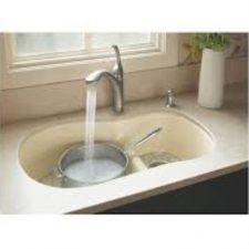 Offset-Kitchen-Sink-K-6498-96-Kohler-Biscuit-FINISH-322453430659